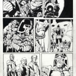 "Cam Kennedy : Judge Dredd ""Alien Town's Burning"" (2000AD) - Prog 1133 Pt2 page 6 (1999)"