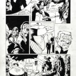 "Cam Kennedy : Judge Dredd ""The Bazooka"" part2 page 8 - Judge Dredd Megazine #1 (2001)"