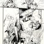Rafa Sandoval & Jordi Tarragona : X-Men Legacy #300 page 5 (Marvel 2014)