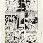Jean-Yves Mitton : Le Surfeur d'Argent (pl.2 in Nova #25 - LUG 1980)
