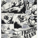 Cam Kennedy : Fighting Man p.01 (Battle Action #277 - 1980)