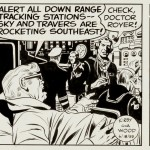 Jack Kirby & Wally Wood : Sky Masters original comic strip (1959)