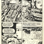 Jack Kirby & Mike Royer : 2001 A Space Odyssey #6 (1977)