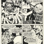 Jack Kirby & Michael Thibodeaux : Captain Victory #9 (1983)