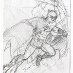 Louis Lachance : Batman pinup (rough)