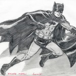 Louis Lachance : Batman pinup