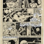 "Fernando Fernandez : Page published in French comic-book ""Cosmos"" during the 50's"