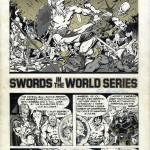 "Jim Starlin & Joe Rubinstein : ""Swords in the World Series"" in Creepy #106 (1979)"