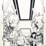 Jim Starlin : Pencil for Star Trek #25 cover (1986)