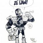 Mauricet : Judge Dredd (1998)