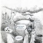 Didot - Dessin pour une carte de Vœux en 2007