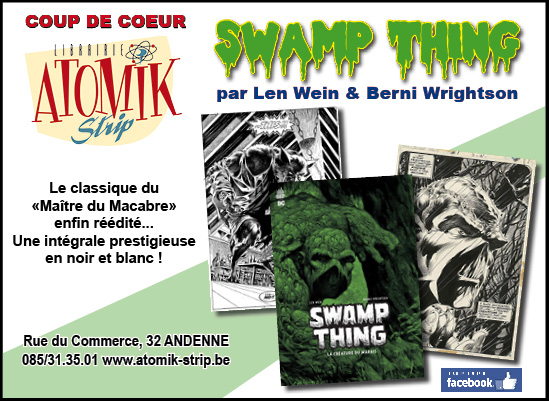coup de coeur swamp thing