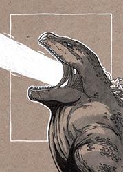 #12 Godzilla