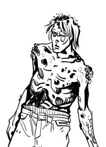 #23 Antonio Wittamer (Zombie 3)