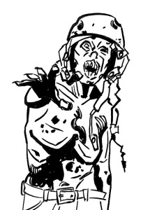 #25 Antonio Wittamer (Zombie 3)
