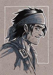 """""""Raven"""" par Sym"""