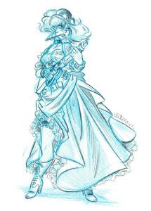 #22 Les Artilleuses : Miss Winchester (E. Willem)