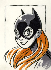Batgirl  (Sym) - Batman Day 2020